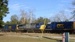 CSX #8620 / SD50-2, #601 / AC44CW, #2333 / Road Slug